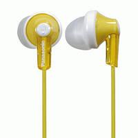 Вакуумные наушники Panasonic RP-HJE118 Yellow