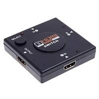 3-портовый HDMI свитч селектор сплиттер 1080p переключатель
