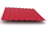 Профнастил ПС 20 металл с полимерным покрытием 0,45х1250