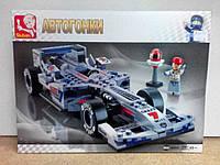 "Конструктор ""Автогонки Формула-1"", 257 деталей, SLUBAN M38-B0352"