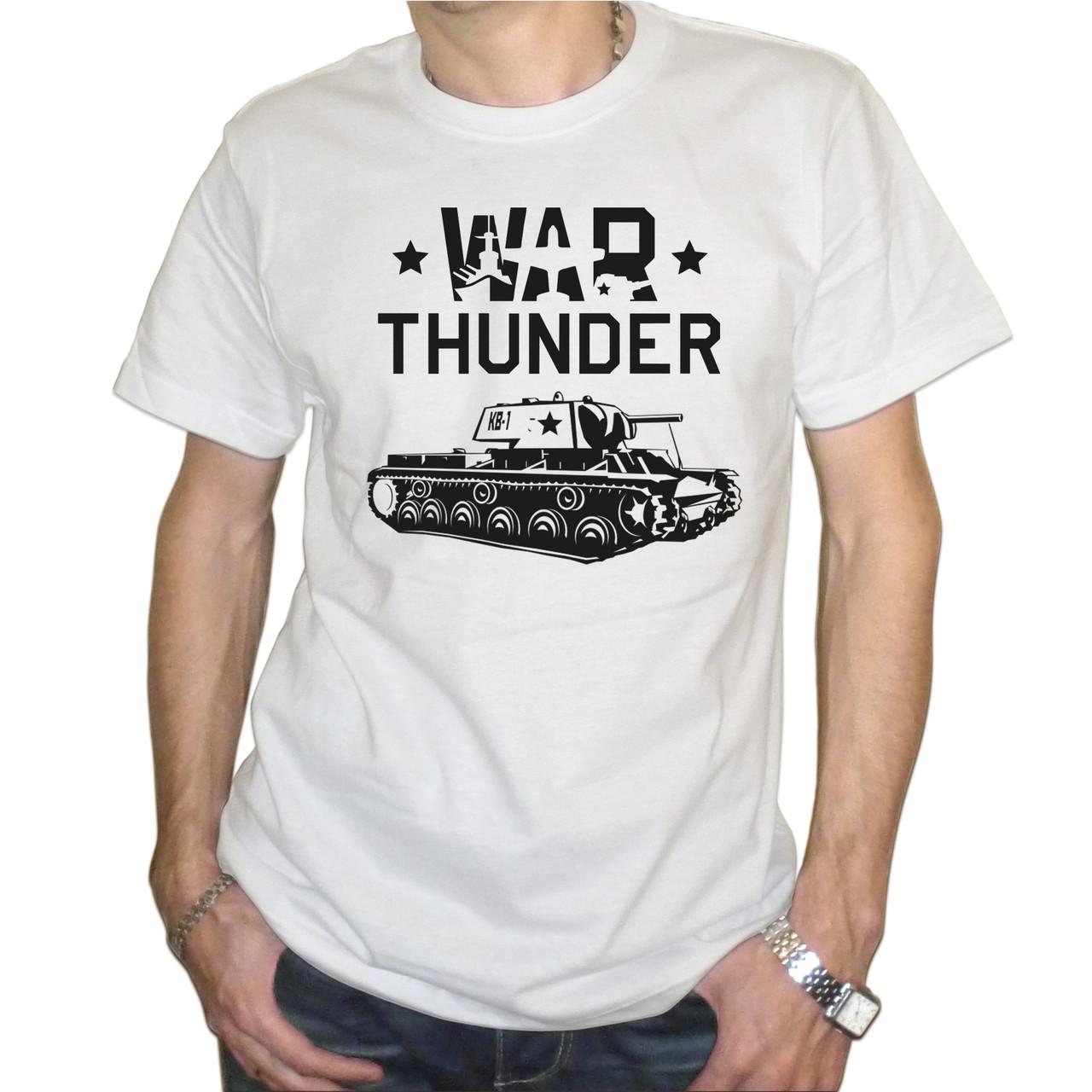 """Мужская футболка """"War Thunder КВ-1"""""""
