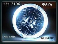 Передние фары+задние фонари на ВАЗ 2106 №5.