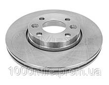 Тормозной диск передний на Renault Kangoo II 2008-> 258mm — Meyle (Германия) - MY16-155210027