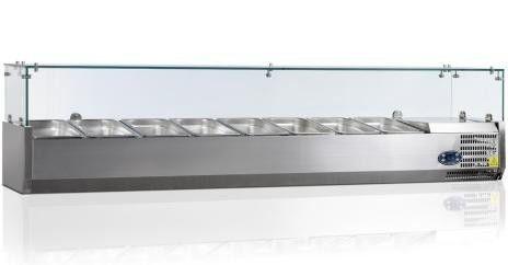 Витрина холодильная, настольная Tefcold -VK33-160