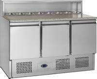 Стол для пиццы, холодильный трехдверный Tefcold РТ930