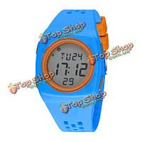 Synoke детей 50м водонепроницаемый сигнализации LED цифровые спортивные часы