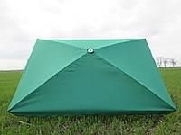 Торговый зонт с серебристым напылением 2*3м