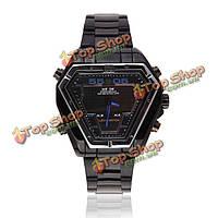 Вайде wh1102 LED спортивные многофункциональные черные мужчины кварцевые наручные часы