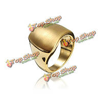 Серебро Золото нерегулярные полированный металлический сплав палец кольцо для женщин