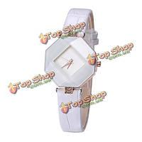 Baosaili роскошный полигон случай платье наручные часы кожаные женские кварцевые часы женщин