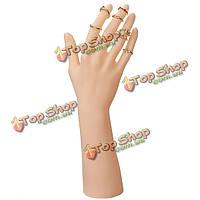 Пластиковые руки манекена перчатки дисплей ювелирных изделий стенд держатель