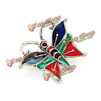925 серебро красочные бабочки шарма части поделок аксессуары