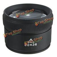 30X оптическое стекло линзы лупа лупой смотреть увеличительное ювелирные изделия инструмент