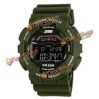 Часы мужские наручные водонепроницаемые спортивные Skmei 1012 LED