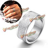 Серебряная библия нержавеющей стали пересекает кольца пальца для мужчин