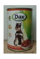 Консерва для собак  Дакс птица , 1,24 кг