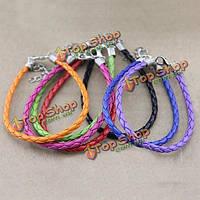 Поделки конфеты цвет PU кожаный шнур браслет ручной работы ювелирные изделия