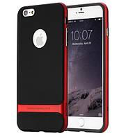 "TPU+PC чехол Rock Royce Series для Apple iPhone 7 / 8 (4.7"") Черный / Красный"