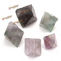 Украшения поделок ювелирных изделий 100g природных октаэдры рок камень ремесла