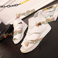 Обувь летние женщины квартиры PISCINE обувь рот выдолбить моды мягкие аппартаментов сандалии обувь