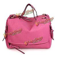 Женщин ретро плетут сумки случайные мешки плеча Crossbody сумки большой Capcity