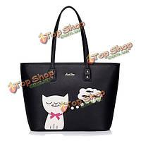 Женщины милые кошки сумки девушки милые рыбы мешки плеча сумки