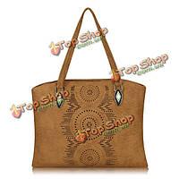 Женщины выдолбить цветок сумки дамы год сбора винограда плеча сумки случайные сумки для покупок