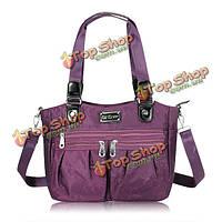 Цветочный узор водонепроницаемый нейлон сумки дамы случайные сумки плеча сумки Crossbody