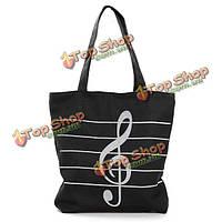 Женщины холст музыкальные сумки тотализатора девушки портативный Сумки на плечо Сумки