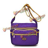 Женщины нейлон легкие Crossbody сумки девушки случайные наружные дорожные сумки плеча лето красочным мешок