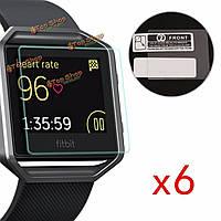 Царапаться ясный протектор экрана пленки протектора кожи для FitBit блеска смарт-часы