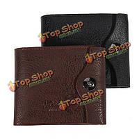 Бизнес-причинно-следственная новых мужчин PU кожаный кошелек карт бумажника