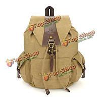Винтаж повседневный мужской рюкзак холст женщин рюкзак школьные сумки