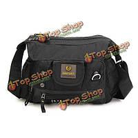 Мужчины оксфорд досуга вместимость Кроссбоди сумка на открытом воздухе путешествие туризм мешок многофункциональный плеча