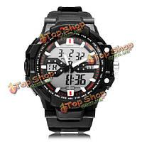 Так ak1282 спорта Дата хронограф задний свет черные мужские наручные часы