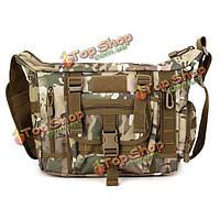 Мужская военная камуфлжная хаки прочная сумка через плечо