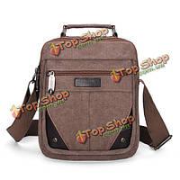 Мужская холст небольших путешествий сумка через плечо сумки Messenger
