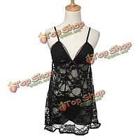 Сексуальная женская Ночная рубашка ночнушка плюс размера