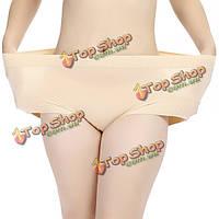 Л-2xl высокая талия точка печати дышащие эластичные трусики нижнее белье интимный для женщин