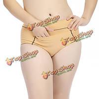 Женщины высокой талии хлопка менструальная герметичными карман тепло трусики трусы нижнее белье