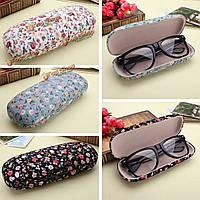 Жесткие солнечные очки очки коробка цветочные очки для чтения для хранения очков футляр для очков