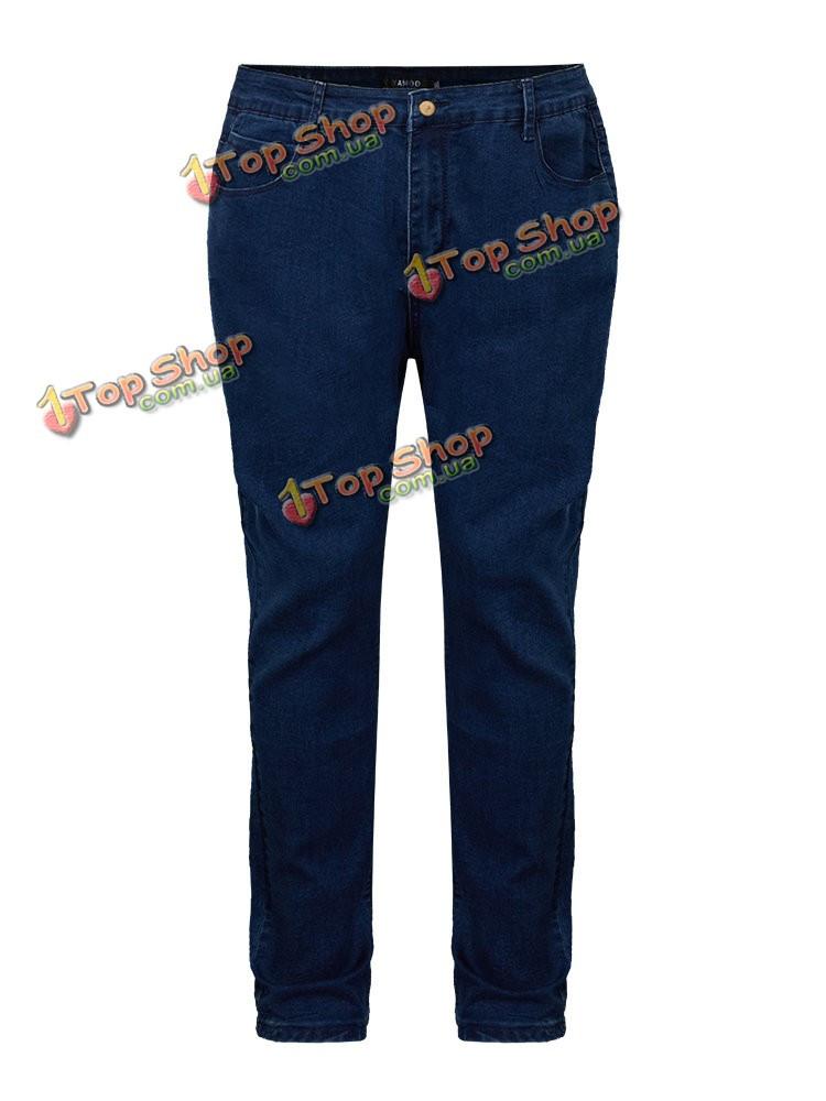 Вскользь тонкий карман середины талии женщины джинсы штаны - ➊TopShop ➠ Товары из Китая с бесплатной доставкой в Украину! в Киеве