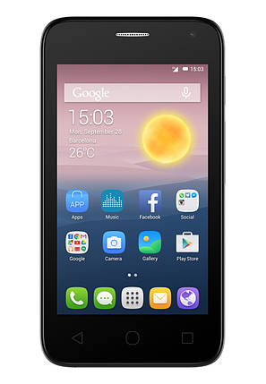 Мобильный телефон Alcatel 4024D Soft Slate , фото 2