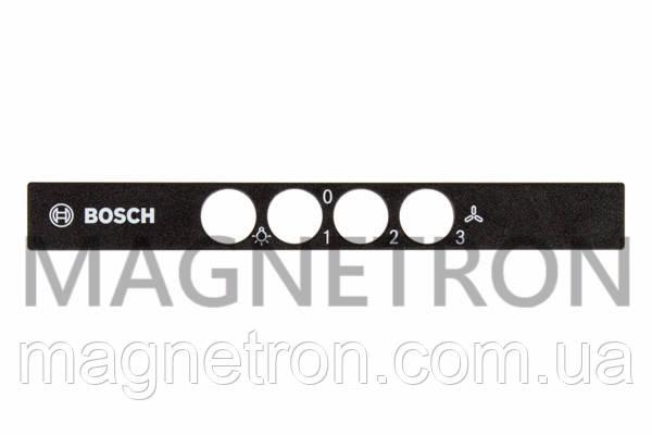 Панель блока управления для вытяжек Bosch 627169, фото 2