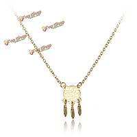 Марочные мечта ловители крылья очарование кулон ожерелье ювелирные цепочки
