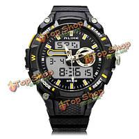 Так ak14100 спорта большая Дата Циферблат черный мужские наручные часы задний свет