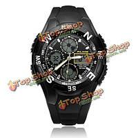 Так ak6106 спорта сигнализация военной задний свет черные мужские наручные часы