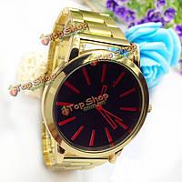 Sbao з-453 резинкой черный красный синий человек аналоговый кварцевые часы