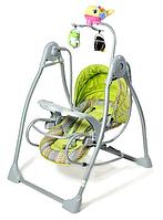 Детская колыбель-качели Baby Tilly BT-SC-0003 (GREEN) КК
