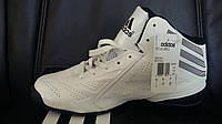 Adidas Next Level Speed 2 White / Black Mens Basketball Shoes